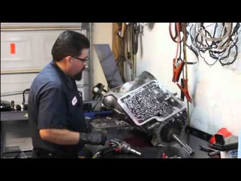 Transmission Repair - 4R100 Transmission Teardown Inspection, No 2-3 UpShift.