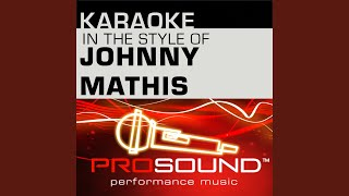 Christmas Song Chestnuts Karaoke Lead Vocal Demo In The Style Of Johnny Mathis