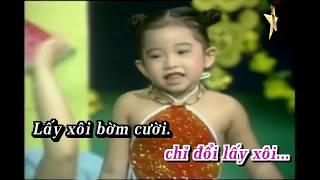 Karaoke Thằng Bờm - Bé Ngọc Ngân