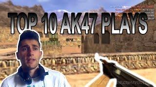 TOP 10 AK47 PLAYS - | REAKCIJA |