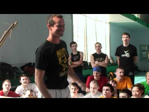 Russian Capoeira Centre - Saint-Petersburg - Cordao De Ouro - 2011 spring workshop