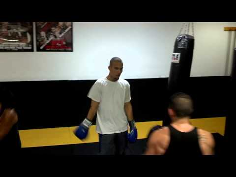 Adult Kick Boxing Sparring 2013