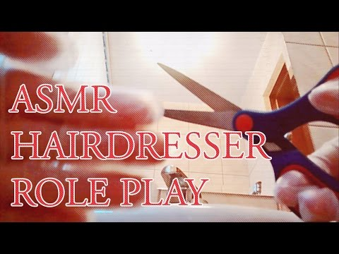 ASMR Best Pure Binaural Hairdresser Role Play Hair Salon Hair Cutting
