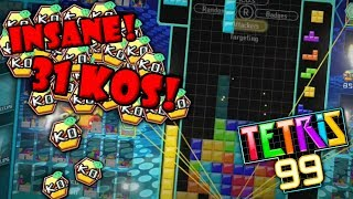 INSANE 31 KO GAME (Tetris 99)