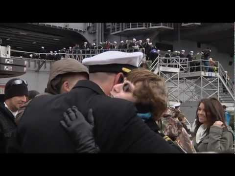 USS George H W Bush Homecoming 2012 - Part 2