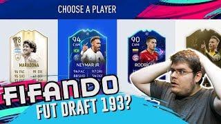 DRAFT 193? TIRAMOS O MARADONA 98 E UM TIME ABSURDO! - FIFA 19