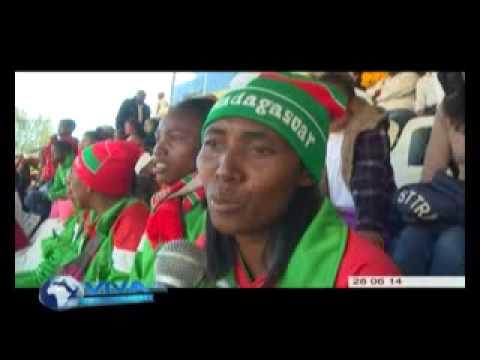 Andry Rajoelina au Stade de Mahamasina