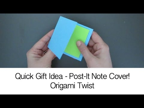 POST-IT NOTE COVER - EASY PAPERCRAFT