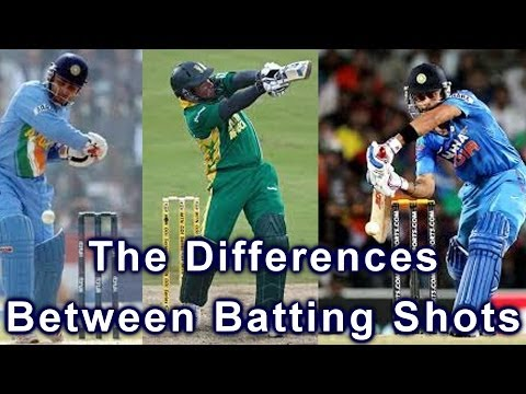 Hd Cricket Coaching Batting Tips - Differences Between Batting Shots Video video