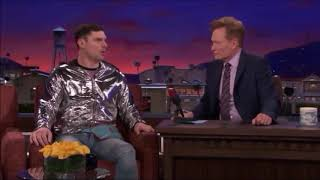 Flula Borg on Conan - Are German Villains Offensive to Him?