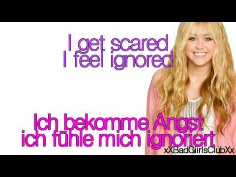 Hannah Monatna - Ordinary Girl Lyrics Deutsche Übersetzung