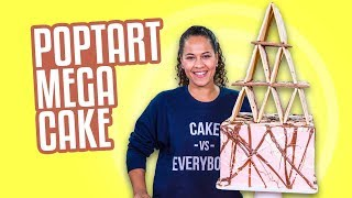 POPTART Mega Cake!!  JENGA ANYONE??  How To Cake It