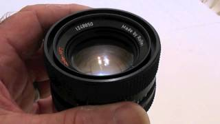Buying a second hand lens a guide