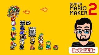 Super Mario Maker 2 - Gameplay Para Relaxar