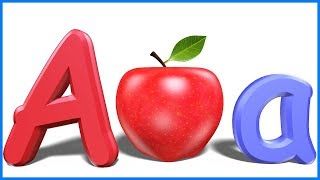Letters For Toddlers | Alphabets For Kids | ABCD For Children | A For Apple