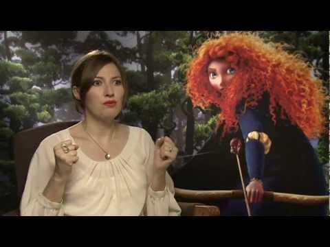 Kelly MacDonald talks playing heroine Merida in 'Brave'