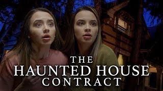 The HAUNTED HOUSE CONTRACT - Episode 1 - Merrell Twins