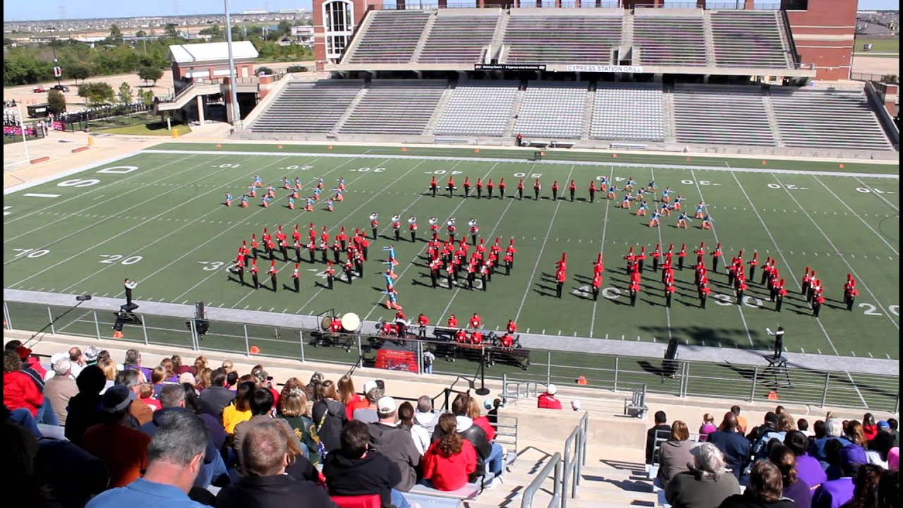 Kempner High School Band Dulles High School Band 2012