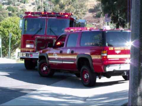 LA County Fire Department-Cliff Rescue-Whittier