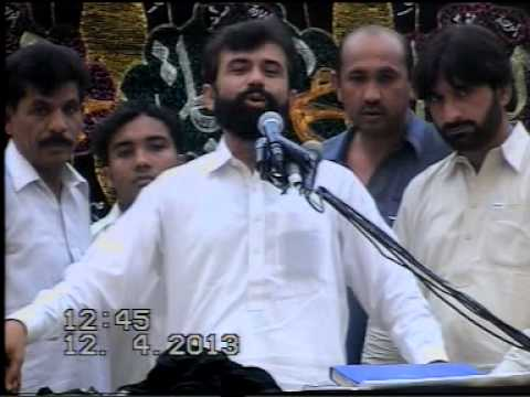 Zakir Syed Ali Raza Shah 12 April 2013 Bharthanwala Sialkot video