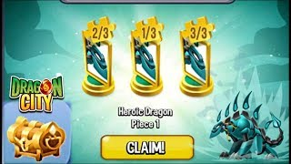 Dragon City: Collect All Heroic Crystal Guardian Dragon Pieces [Heroic Dragon]