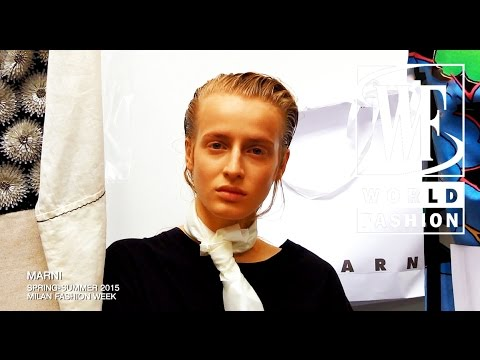 Backstage Marni Spring-Summer 2015  Milan Fashion Week