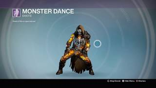 Every Dance Emote in Destiny (With Complete Armor)
