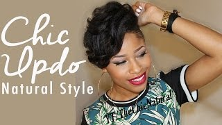 FLY SPRING/ SUMMER STYLE - Natural Hair Tutorial
