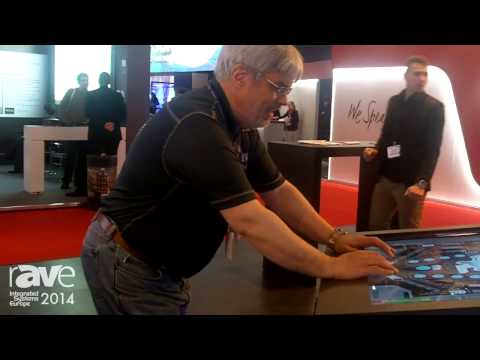 ISE 2014: Joel Rollins Plays 4K Pinball on the Lang Stand