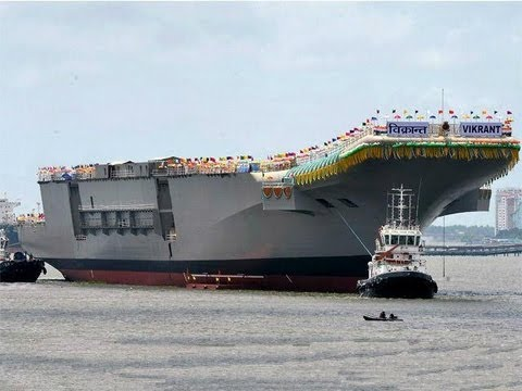 Exclusive: India's Aircraft Carrier INS Vikrant a Threat, Says China