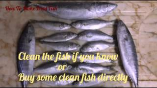 How to make fried fish