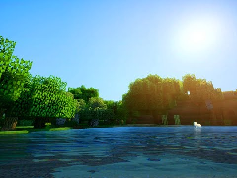 Amazing Minecraft Graphics - Sonic Ether's Shaders v10