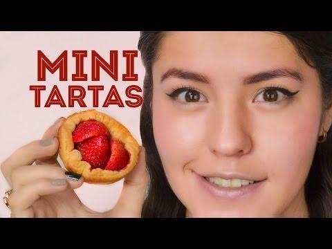 MINI TARTAS CHOCOFRESA FÁCIL MUSAS