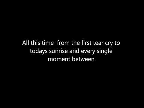 Britt Nicole: All This Time (lyrics) :) video