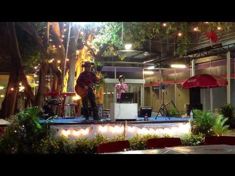 My Heart Will Go On, by Johanna Makela at Sripaisit Night Bazaar, Udomsuk, Bangkok