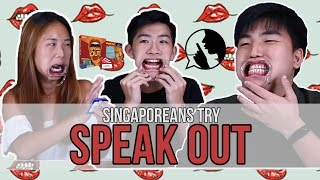 Singaporeans Try: The Mouthguard Challenge (Speak Out) | EP 84