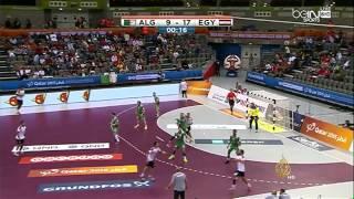 المنتخب المصري لكرة اليد يفوز على نظيره الجزائري