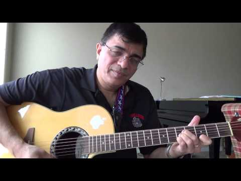 Ennadi Meenakshi Illayaraja guitar chords and lead lesson by...