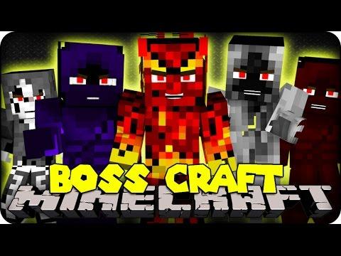Minecraft Mods - BIGGEST BOSSES! ( BossCraft Mod Showcase