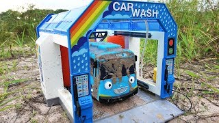 Car Wash | Tayo the Little Bus Stuck in the Mud