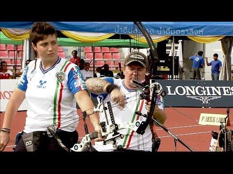 Compound Mixed Open Team Bronze – WA Para Championships 2013 – Bangkok (THA)