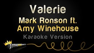 Mark Ronson Ft Amy Winehouse Valerie Karaoke Version