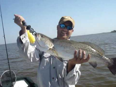 9 Lbs Trout On Calcasieu