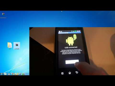Rooting and installing custom ROM (LG Optimus 2x) HD