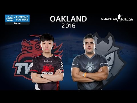 CS:GO - G2 Esports vs. TyLoo [Overpass] - Group A - IEM Oakland 2016