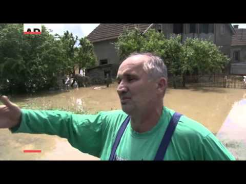 Record Floods Leave West Balkans Homeless