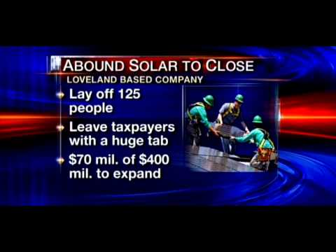 NBC Denver Covers Yet Another Obama Green Energy Failure