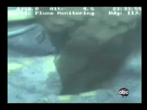 Gulf oil spill - Anything but a LEAK - Crater Plume
