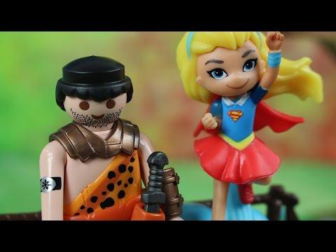Poszukiwacz złota | DC Super Hero Girls & Playmobil | Bajki dla dzieci