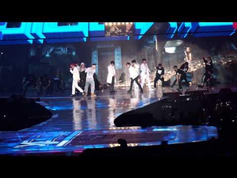141203 2014 MAMA - Block B and BTS[Fancam]